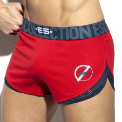 Short rocky SIXTY - rouge - ES COLLECTION SP250-C06