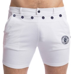 Matelot - Short Blanc - L'HOMME INVISIBLE HW159-MAT-002
