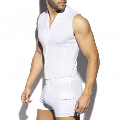 Sleeveless bodysuit - blanc - ES COLLECTION SP257-C01