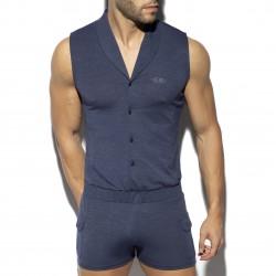 Sleeveless bodysuit - marine - ES COLLECTION SP257-C09