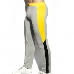 Pantalon PIQUE FIT - gris - ES COLLECTION SP244-C11