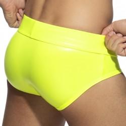 Slip néon SHINY - jaune fluo - ADDICTED AD987-C31