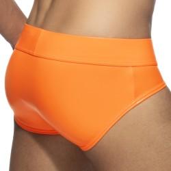 Slip néon SHINY - orange fluo - ADDICTED AD987-C32