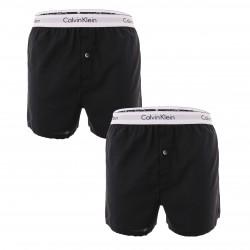 Lot de 2 caleçons slim fit Modern Cotton - noir - CALVIN KLEIN NB1396A-001 - per