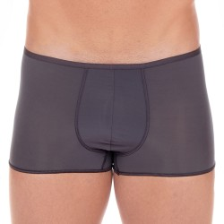 Boxer court Plumes - gris anthracite - HOM 404755-Z098