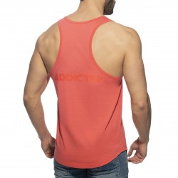 Débardeur U-neck Cotton - corail - ADDICTED AD997-C30