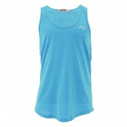 Débardeur U-neck Cotton - turquoise - ADDICTED AD997-C08