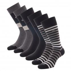 Lot de 3 paires de chaussettes - CALVIN KLEIN 100003014-001