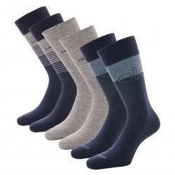 Lot de 3 paires de chaussettes avec logo - CALVIN KLEIN 100003012-002