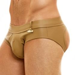 Slip Bottomless Leather Legacy - camel - MODUS VIVENDI 11113-CAMEL