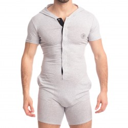 Hypnos - Hoodie Bodysuit Grey - L'HOMME INVISIBLE HW155-HYP-GC1