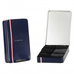 5-Pack Gift Box Stripe Dot Socks - black - TOMMY HILFIGER 701210550-002