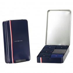 5-Pack Gift Box Stripe Dot Socks - navy - TOMMY HILFIGER 701210550-001
