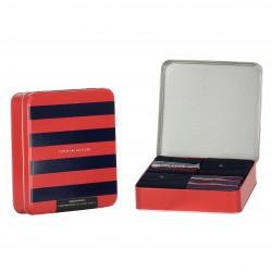 4-Pack Gift Box Stripe Socks - navy - TOMMY HILFIGER 701210548-001