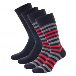 Lot de 2 paires de chaussettes - navy - TOMMY HILFIGER 472001001-039