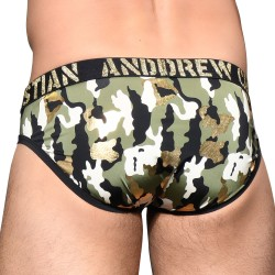 Glam Camouflage Brief w/ Almost Naked - ANDREW CHRISTIAN 92174-MULTI
