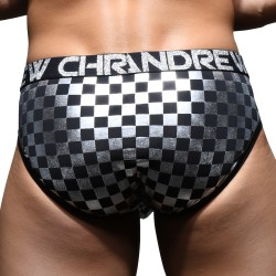 Metallic Icon Brief w/ Almost Naked - ANDREW CHRISTIAN 92128-BLKSV