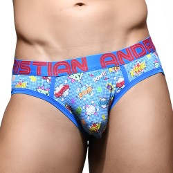 Gay Superhero Brief w/ Almost Naked - ANDREW CHRISTIAN 92142-MULTI