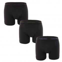 Set of 3 Boxers Cotton Stretch - black - CALVIN KLEIN U2662G-WIC