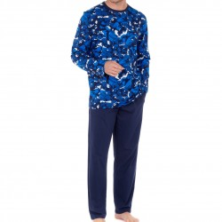 Pyjama long - Madrague - HOM 402328-P0RA