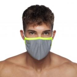 Masque à rayures - marin - ADDICTED AC121-C09