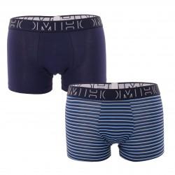Lot de 2 Boxers Alphonse - bleu - HOM 402316-D013