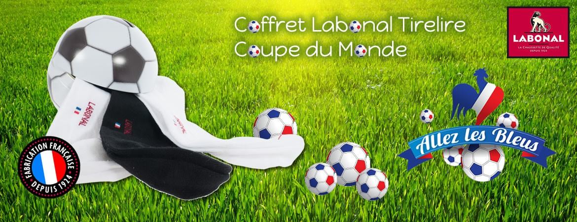 Coffret Labonal Tirelire Coupe du Monde
