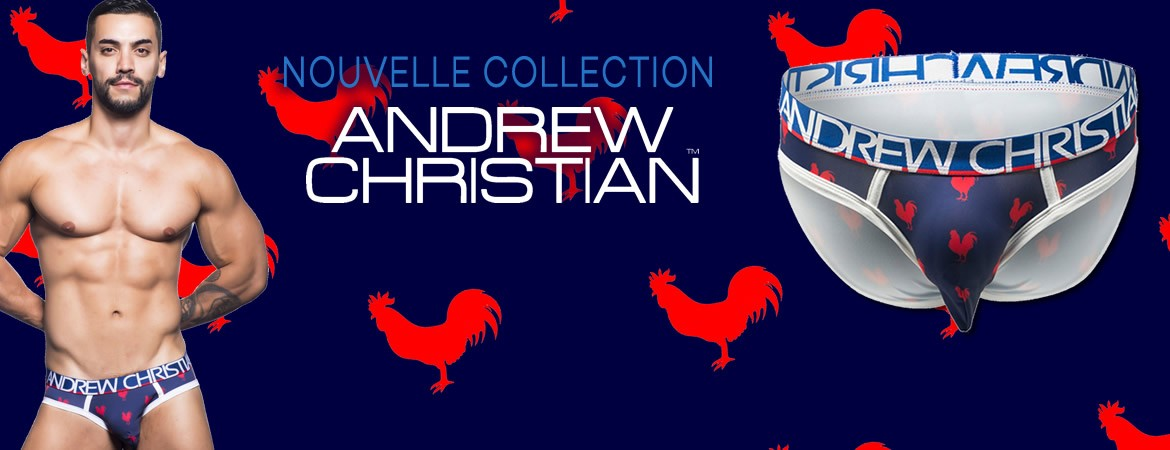 Nouvelle collection Andrew Christian