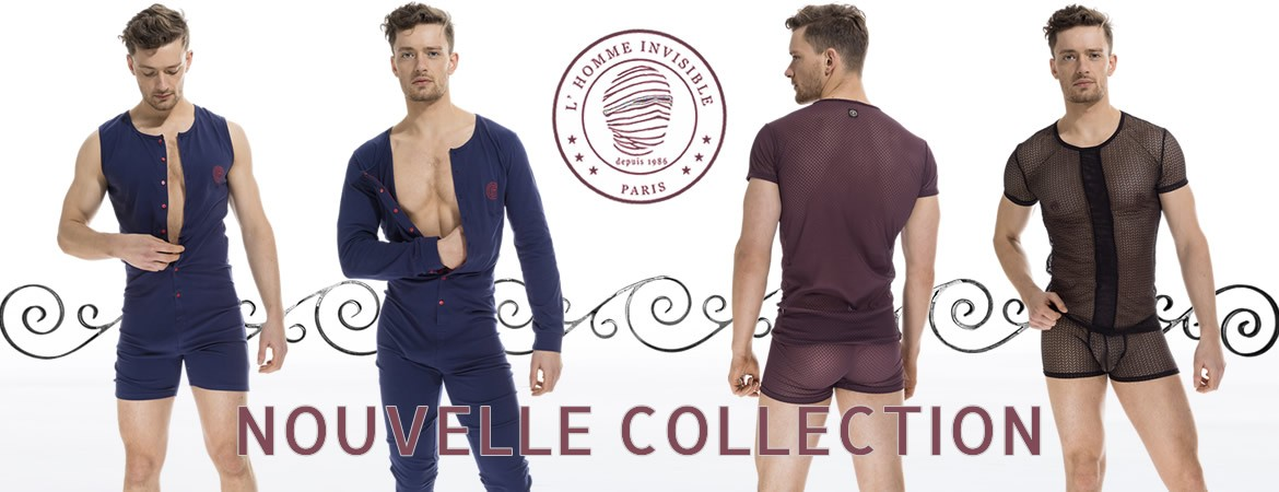 Nouvelle collection L'Homme Invisible